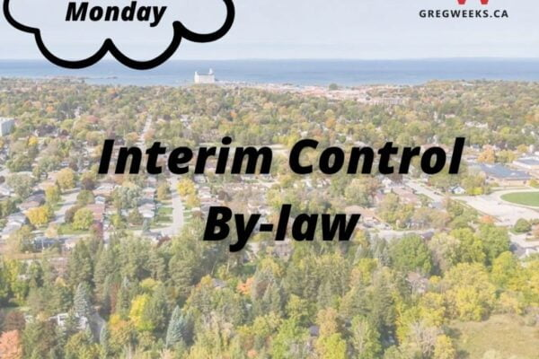 Interim Control By-Law & Land Use Planning Policy Study